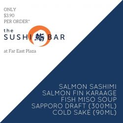 [The Sushi Bar Dining] Last week of the month for this $3.