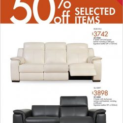 [Sofa Outlet] Spruce up your living room and give it a makeover with our new sofa arrivals.