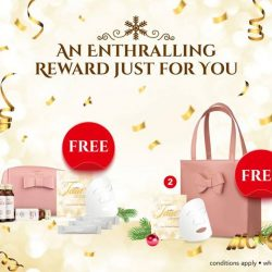 [GNC Live Well Singapore] It's the season of giving and we'd like to reward you for shopping with us.