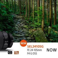 [Sony Singapore] From wide-angle to telephoto zoom, the lightweight SonyG SEL24105G is your one-lens solution for mobile, versatile shooting.