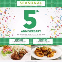 [SEASONAL SALAD BAR] We are super proud to announce Seasonal Salad Bar has turn 5, and we are happy to launch our New