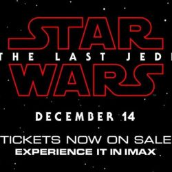 [Shaw Theatres] The Force is strong today.