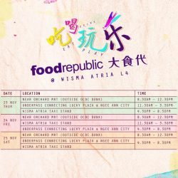 [Food Republic] Swinging by Orchard or working in the vicinity?