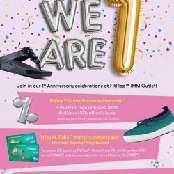 [FitFlop] Our FitFlop™ Outlet store at IMM outlet mall turns ONE!