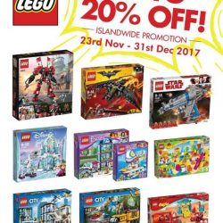 [Gifts Greetings] LEGO Islandwide Promotion starts today till 31st December 2017!
