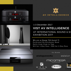[AV Intelligence] AV Intelligence will be at International Sound & Sight Exhibition (ISSE) 2017 starting tomorrow to the weekend.