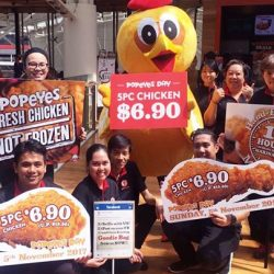 [Popeyes Louisiana Kitchen Singapore] Popeyes Day is finally here!
