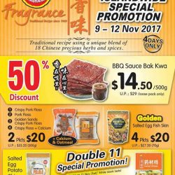 [Fragrance Bak Kwa] Hi Fans, From now to this Weekend, Get 50% OFF on our BBQ Sauce Bak Kwa (with min purchase 500