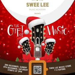 [Swee Lee Music] Head down to Katong I12 this Sunday and join us for an afternoon of seasonal musical performances from the students