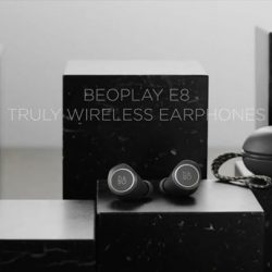 [Stereo] Introducing Beoplay E8: The splash and dust resistant Beoplay E8, drawing on Bang & Olufsen's 90 years of design heritage,