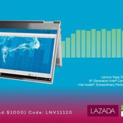 [Lenovo] Find yourself a perfect companion in the YOGA 720, your impressive machine packed with the 8th Generation Intel® Core™ i7