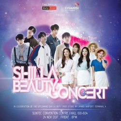 [COSMETICS & PERFUMES BY SHILLA] Last chance to catch SHINee & Red Velvet live!