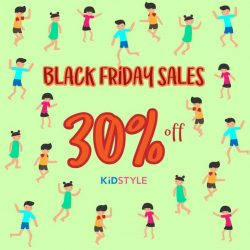 [KidStyleSg] Our Black Friday Sales is here!