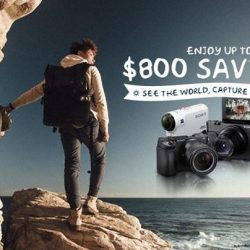 [Sony Singapore] See the world and capture the sights with up to S$800 savings and other amazing free gifts: http://smarturl.