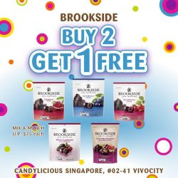 [Candylicious] Dive in to these delicious and healthy Brookside chocolates.