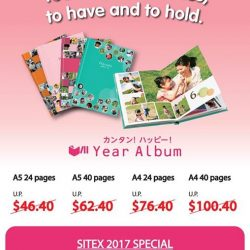 [FUJIFILM] Personalize your very own FUJIFILM Year Album this holiday season and enjoy up to 25% savings only at SITEX 2017,