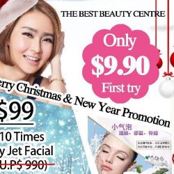 [THE BEST BEAUTY CENTRE] Just Tag and Share at your Facebook to stand a chance to win Purying-Jet Facial!