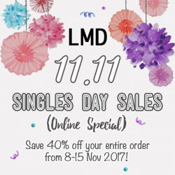 [LMD Collections] Online only special promotion!