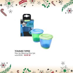 [Mothercare] Tommee Tippee Explora Pop Up Weaning Pots comes with push-up bases, which makes it easy to pop out portions