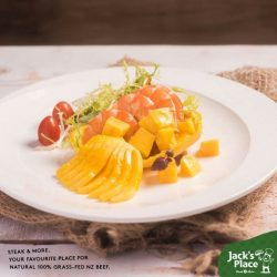 [Jack's Place] Keep your appetite excited before the main course by trying out this Prawn and Mango cocktail salad from our Nautical