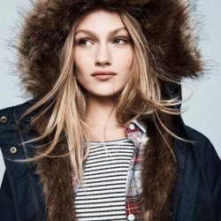 [Jack Wills] The Marazion Faux Fur Lined Parka is ideal for colder climates.