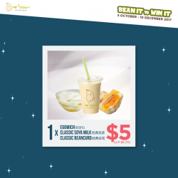 [Mr Bean Singapore] Bean It to Win It now with Mr Bean's beanie-licious Combo Deals, from $5 onwards!