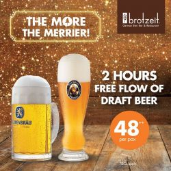[Brotzeit German Bier Bar and Restaurant] It's a gathering time!