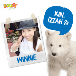 [Boost Juice Bars Singapore] Gather around for Thursday lucky names!