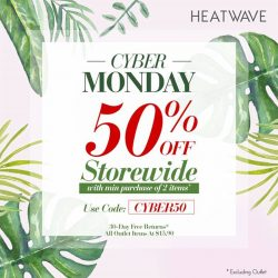 [Heatwave] Black Friday may be over, but the deals are still coming… brighten up those Monday blues with our massive Cyber