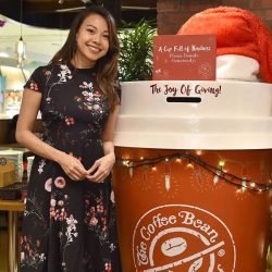 [The Coffee Bean & Tea Leaf® - Singapore] Presenting A Cup Full of Kindness to help spread smiles this season.