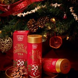[TWG Tea Salon & Boutique] As the fiery yule log crackles in the fire and family and friends gather to celebrate, TWG Tea offers a
