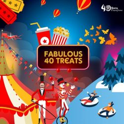 [Elements @ Play by Science Centre Singapore] There is no better way to celebrate ScienceCentreSG turning 40 than with our Fabulous40 Treats!