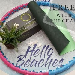 [Pierre Cardin] Get either a hula hoop or a yoga mat FREE when you purchase $80 or more from the Energized Collection.