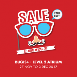 [Owndays Singapore] Here's your chance to score 50%* off prescription glasses and sunglasses!