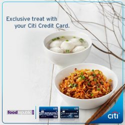 [Citibank ATM] Enjoy S$1* off your meal at Food Republic with a min.