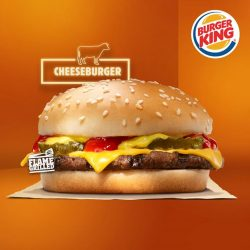 [Burger King Singapore] Choose from 3 delicious burgers to enjoy our 2 for $4 promotion.