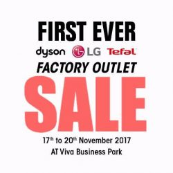 [Harvey Norman] The first ever, Dyson, LG and Tefal sale is coming to HarveyNormanSG Factory Outlet!