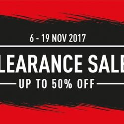 [Royal Sporting House Singapore] Time to pick up your favourite sporting apparel, footwear and accessories at a steal.