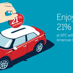 [American Express] You can enjoy up to 21% petrol savings at SPC again!