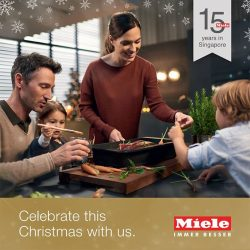 [Harvey Norman] Celebrate this Christmas at  HarveyNormanSG with Miele.