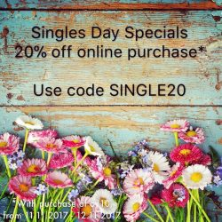 [FASHION LAB] Singles Day Specials!