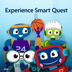 [UOB Bank] Join us for a fun-filled weekend at the UOB Smart Quest from 17 November to 19 November 2017 from