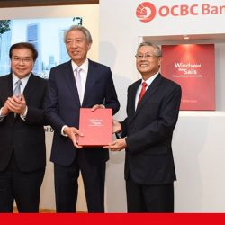 "[OCBC Bank & Premier Banking] We're thrilled to launch our book, ""Wind behind the Sails""."