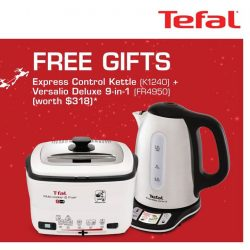 [Tefal] Bask in the Xmas spirit with free gifts with min.