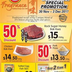[Fragrance Bak Kwa] Start your December with our Special Offer!