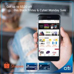 [Citibank ATM] Start shopping at Shopee's Black Friday & Cyber Monday Sale with Citi Card!