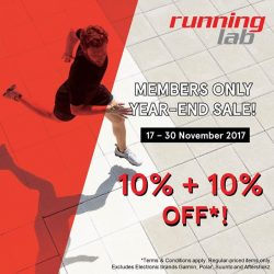 [Marina Square] Running Lab Members: Year-End Sale is NOW ON!