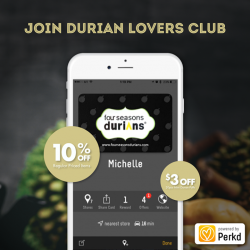 [Four Seasons Durians] If you call yourself a Durian lover, you should be a part of our family!
