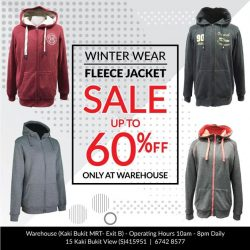 [Universal Traveller] For mid-layer, fleece jacket is recommended.