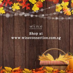 [Wine Connection] Save up to 25% off and uncork a great Thanksgiving feast this year!